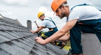 Roof repair in Stockton